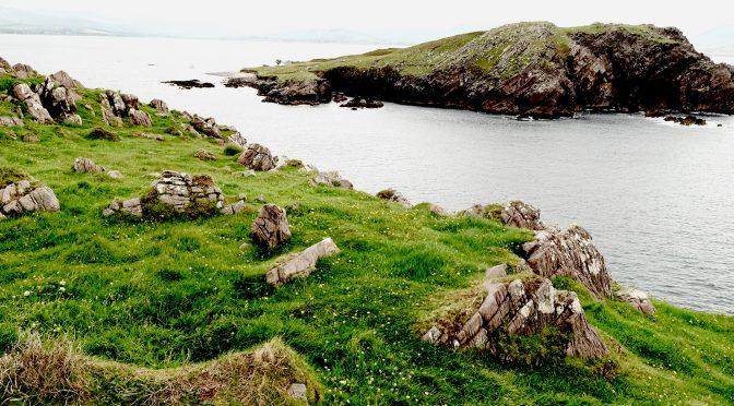 Insel vor der Irischen Küste