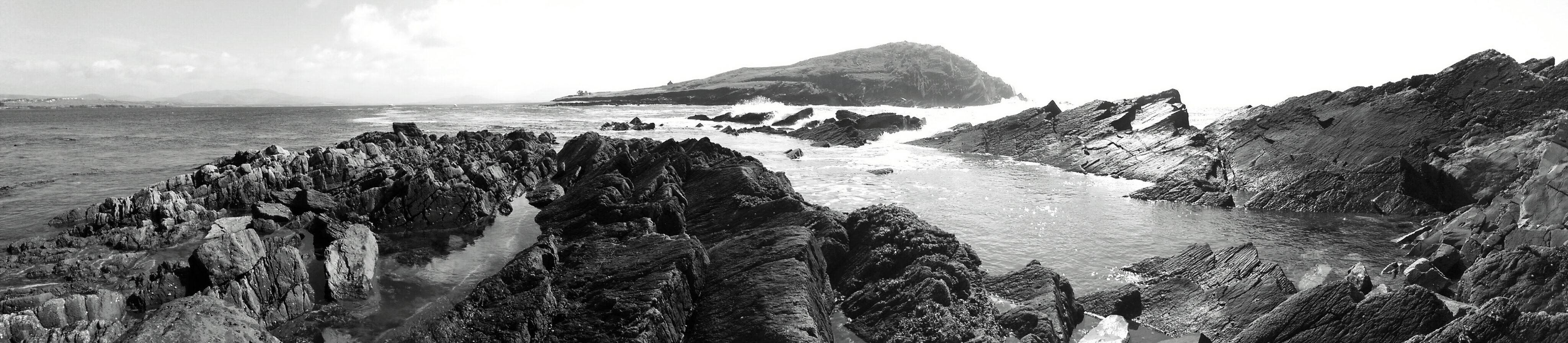 Felsküste im Südwesten Irlands