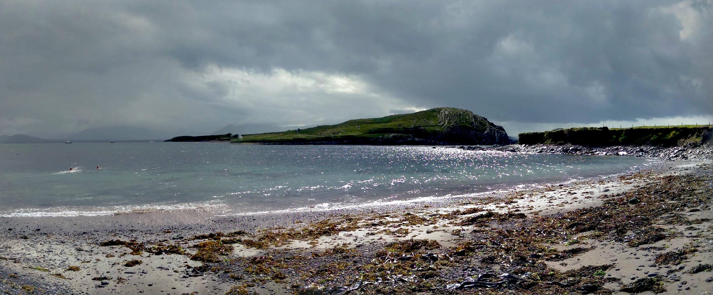 Strand an der Irischen Küste