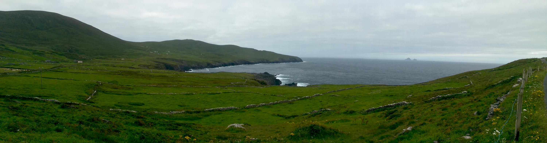 Bucht und Skellig Islands
